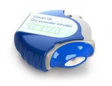 Clean air dry powder inhaler
